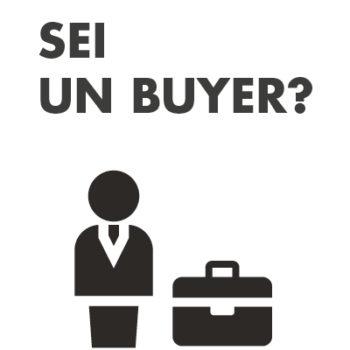 sei un buyer?